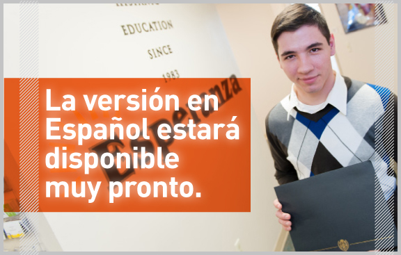 Esperanza Spanish Site Coming Soon