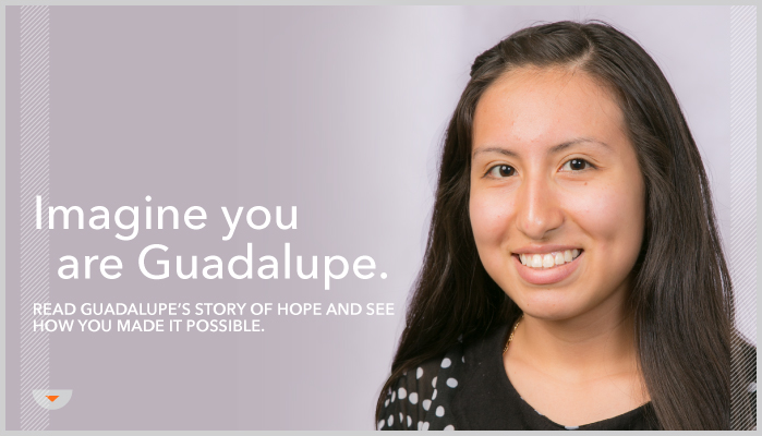 Guadalupe has hope